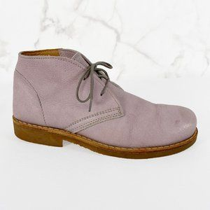 Roots Canada Tribe Leather Crepe Sole Chukka Boots